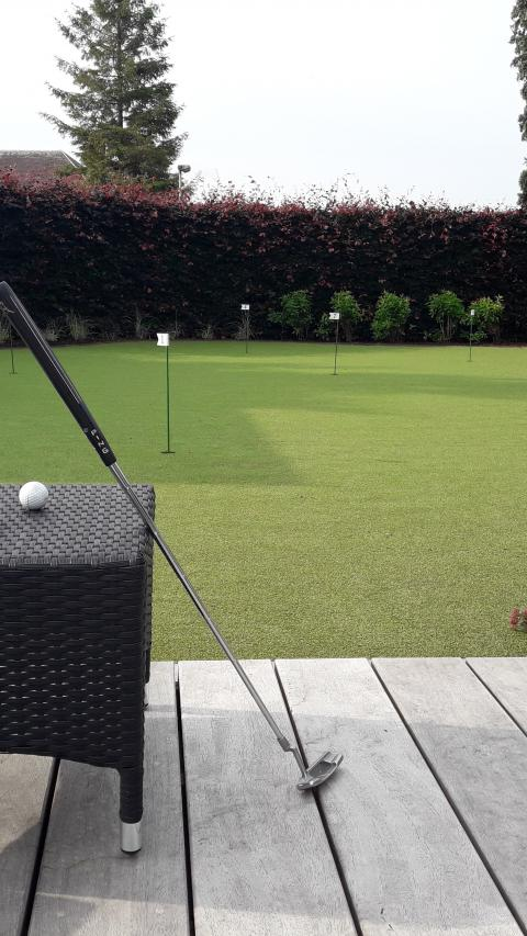 Putting green voorbeeld